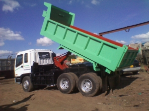 Truck for hire or sale
